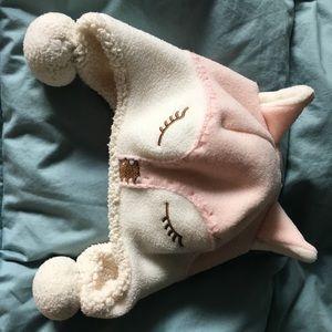 BabyGap fleece cozy fox hat